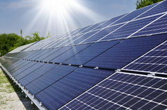 Photovoltaic solar Stock Image