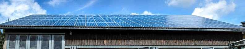 Photovoltaic solar modules Royalty Free Stock Photography