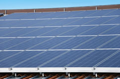 Photovoltaic Solar Panel Royalty Free Stock Photo