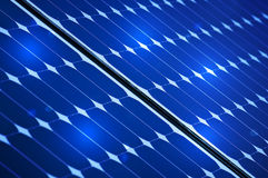 Photovoltaic solar panel Stock Images