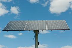 Photovoltaic Solar Panel Array - Renewable Energy Royalty Free Stock Photos