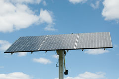 Photovoltaic Solar Panel Array - Renewable Energy Stock Photography