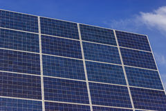 Photovoltaic Solar Panel. S on a background of blue sky Stock Photography