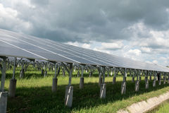 Photovoltaic or solar panel for renewable energy Stock Photography
