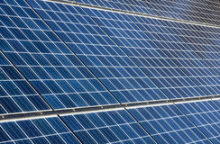 Photovoltaic Solar Panels royalty free stock images