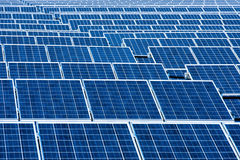 Photovoltaic Solar Panels Stock Photos