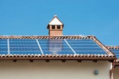 Photovoltaic solar panels Stock Photos