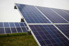 Photovoltaic solar panels Stock Image