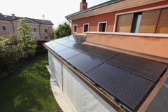 Photovoltaic solar power plant Royalty Free Stock Photo