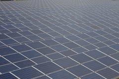 Photovoltaic solar  power station - photovoltaic park Stock Photo