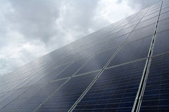 Photovoltaic systeem Stock Afbeelding