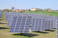 Photovoltaic system Stock Photography