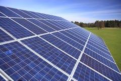 photovoltaic system Royaltyfri Foto