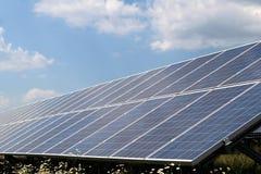 Photovoltaic system Royaltyfria Foton