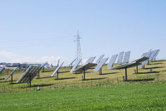 Photovoltaic system Royalty Free Stock Photography