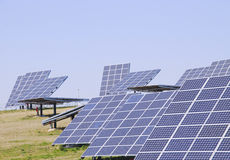 Photovoltaic system Stock Photos