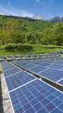Photovoltaic System in Italy Stock Images