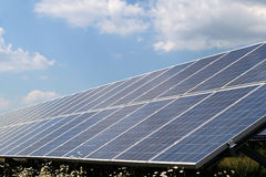 Photovoltaic system Royalty Free Stock Photos