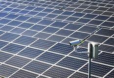 Photovoltaic zaken Royalty-vrije Stock Foto