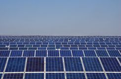 Photovoltaics panels Royalty Free Stock Photography
