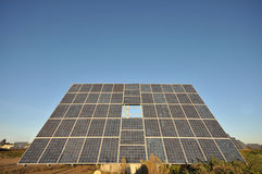 Photovoltaics Panels in Sunlight. Royalty Free Stock Photos