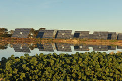 Photovoltaics Panels in Sunlight. Royalty Free Stock Photo