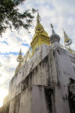 Phousi kulle Royaltyfri Fotografi