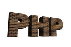 Php Royalty Free Stock Photo