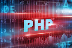 PHP concept Stock Images