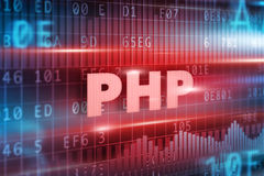 PHP concept Royalty Free Stock Photography
