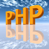 PHP - Hypertext Preprocessor Royalty Free Stock Photos