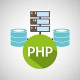 Php language data base storage Royalty Free Stock Photo