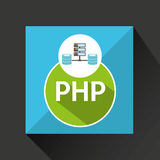 Php language data base storage Royalty Free Stock Photos