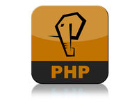 Php Logo Icon Tab Royalty-vrije Stock Foto