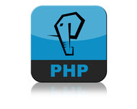 Php Logo Icon Tab Royalty Free Stock Photo