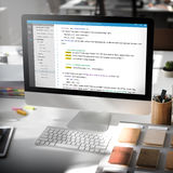 PHP que programa concepto del ciberespacio de la codificación del HTML Imagen de archivo