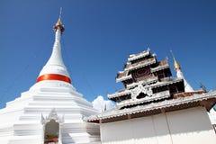 Phra土井孔Mu寺庙,泰国 库存照片