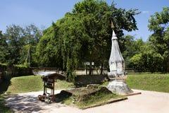 Phra孔Khao Noi是古老stupa或Chedi在Yasothon,泰国 免版税图库摄影