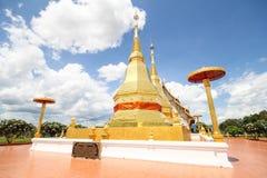 Phra玛哈下巴thar jao montol sala寺庙,南奔泰国 免版税库存照片