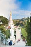 Phra玛哈Dhatu Nabhamethanidol 免版税库存照片
