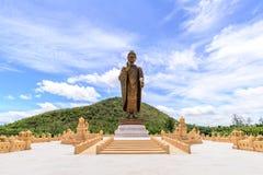 Phra菩萨Metta Pracha泰国Trai Lokanat,北碧泰国 免版税库存图片