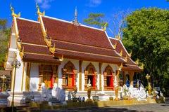Phra Że Doi Dzwonił świątynię obraz stock