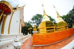 Phra που ναός Doi Tung, επαρχία Chiang Rai, Ταϊλάνδη Στοκ Φωτογραφία