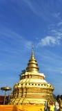 Phra που λουρί Sri Jom, σειρά 1_1, χρυσή παγόδα με Clond Στοκ εικόνα με δικαίωμα ελεύθερης χρήσης