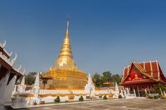 Phra ότι ο ναός Chae Haeng είναι ένας αγαπημένος προορισμός στην επαρχία γιαγιάδων, Ταϊλάνδη στοκ εικόνα με δικαίωμα ελεύθερης χρήσης