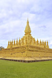 Phra которое Luang, Лаос. Стоковая Фотография RF