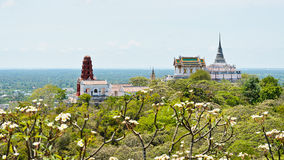 Phra洛坤Khiri寺庙 免版税库存图片