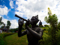 `Phra Abhai Mani` The charactor of Sunthorn Phu. `Phra Abhai Mani` The charactor of Sunthorn Phu Stock Image