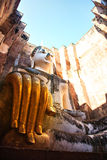 Phra Achana στο Si Chum Wat στο ιστορικό πάρκο Sukhothai Στοκ εικόνες με δικαίωμα ελεύθερης χρήσης