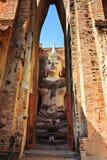 Phra Achana στο Si Chum Wat στο ιστορικό πάρκο Sukhothai Στοκ Εικόνα
